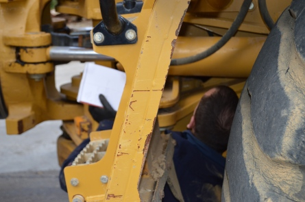 Heavy machinery inspection